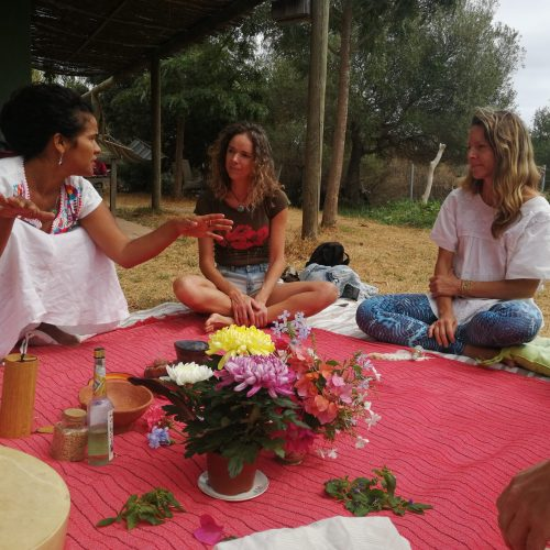 Shamanic training and ceremony in Tarifa, Spain